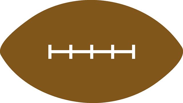 Football laces clip art 6