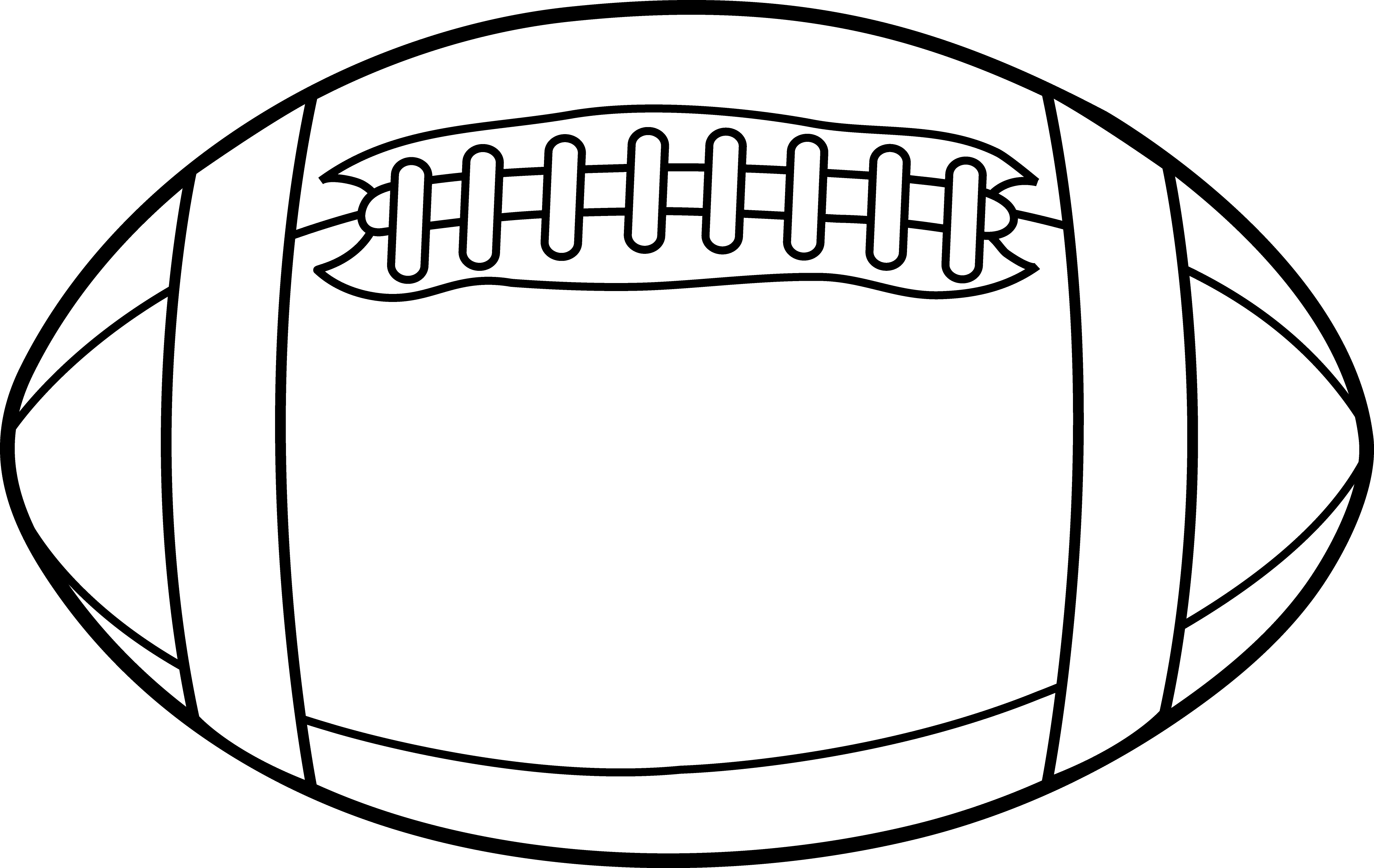Football laces clip art 9