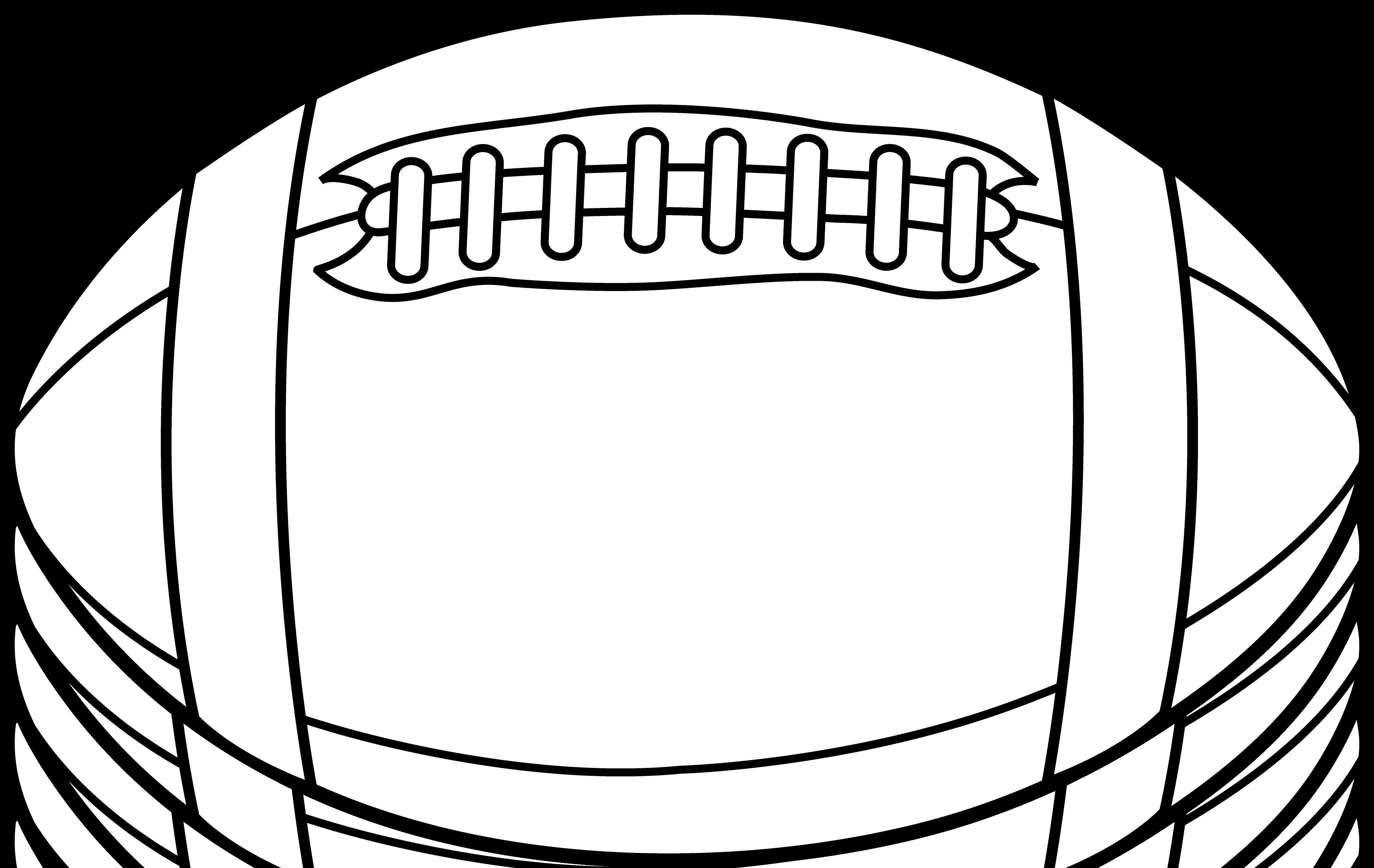 Football laces clip art 9