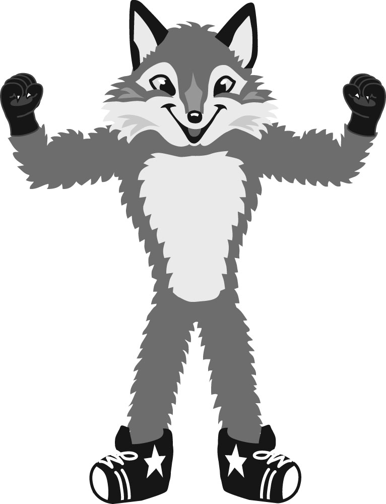 Fox  black and white fox clip art black and white free clipart images 5