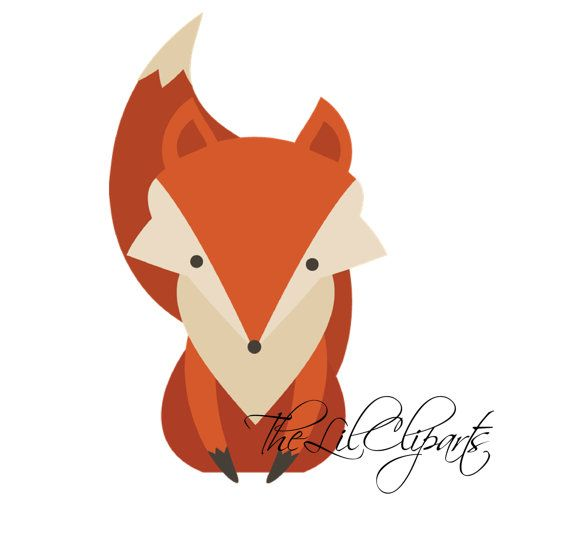 Fox  black and white fox head clipart black and white