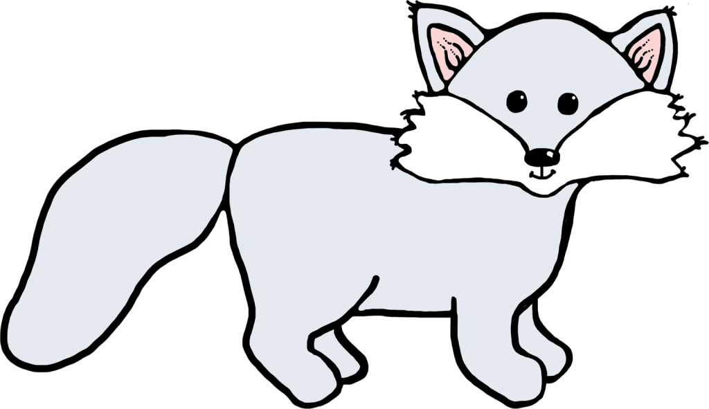 Fox  black and white free fox clipart pictures 2
