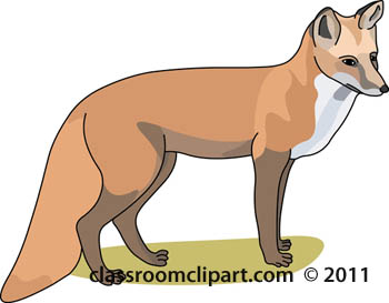 Fox  black and white image fox clipart black and white