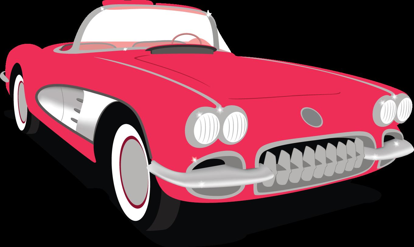Free corvette vector images clipart