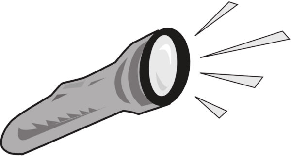 Free flashlight clipart 1 page of clip art