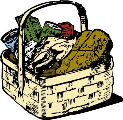 Gift basket t basket clip art 9