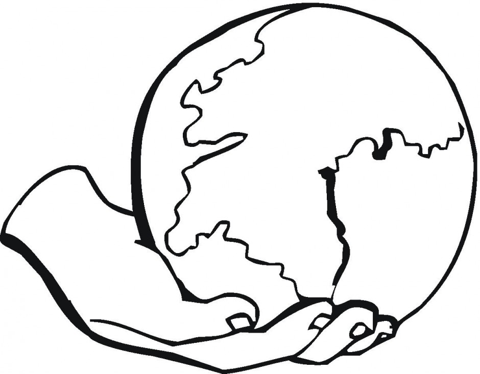 Globe  black and white earth black and white clipart clipart