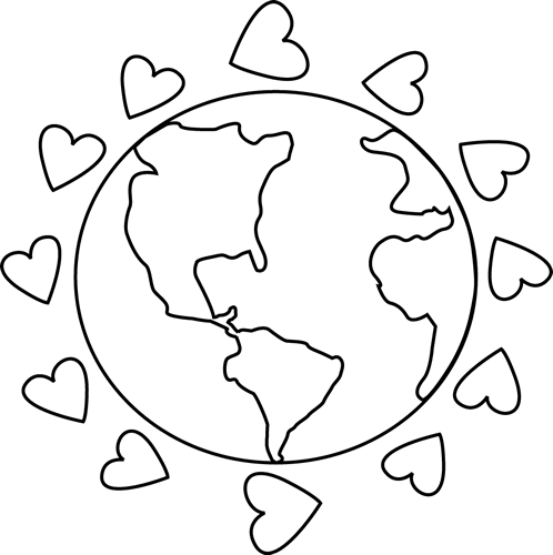 Globe  black and white earth clipart black and white free images 2