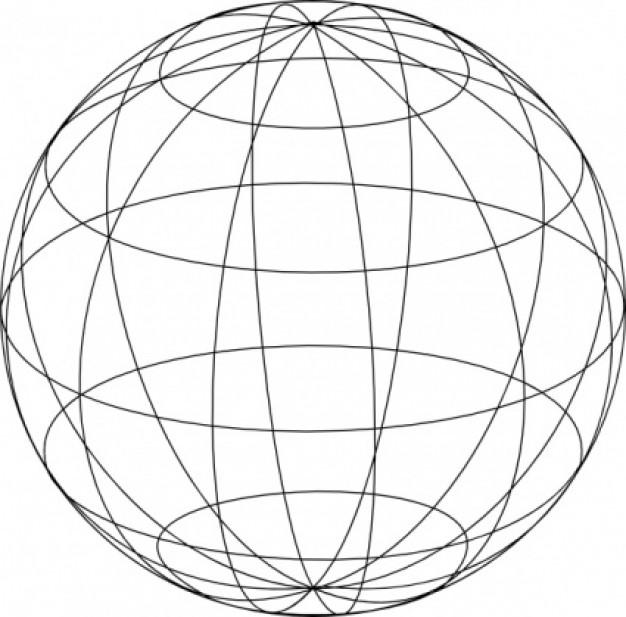 Globe  black and white free earth and globe clipart 3