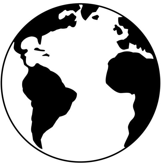 Globe  black and white globe clipart black and white free images 3