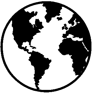 Globe  black and white world free earth and globe clipart wikiclipart