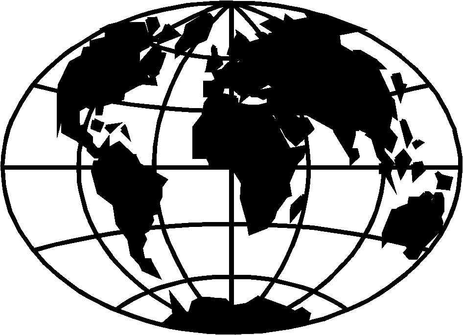 Globe  black and white world globe clipart black and white clipartfox