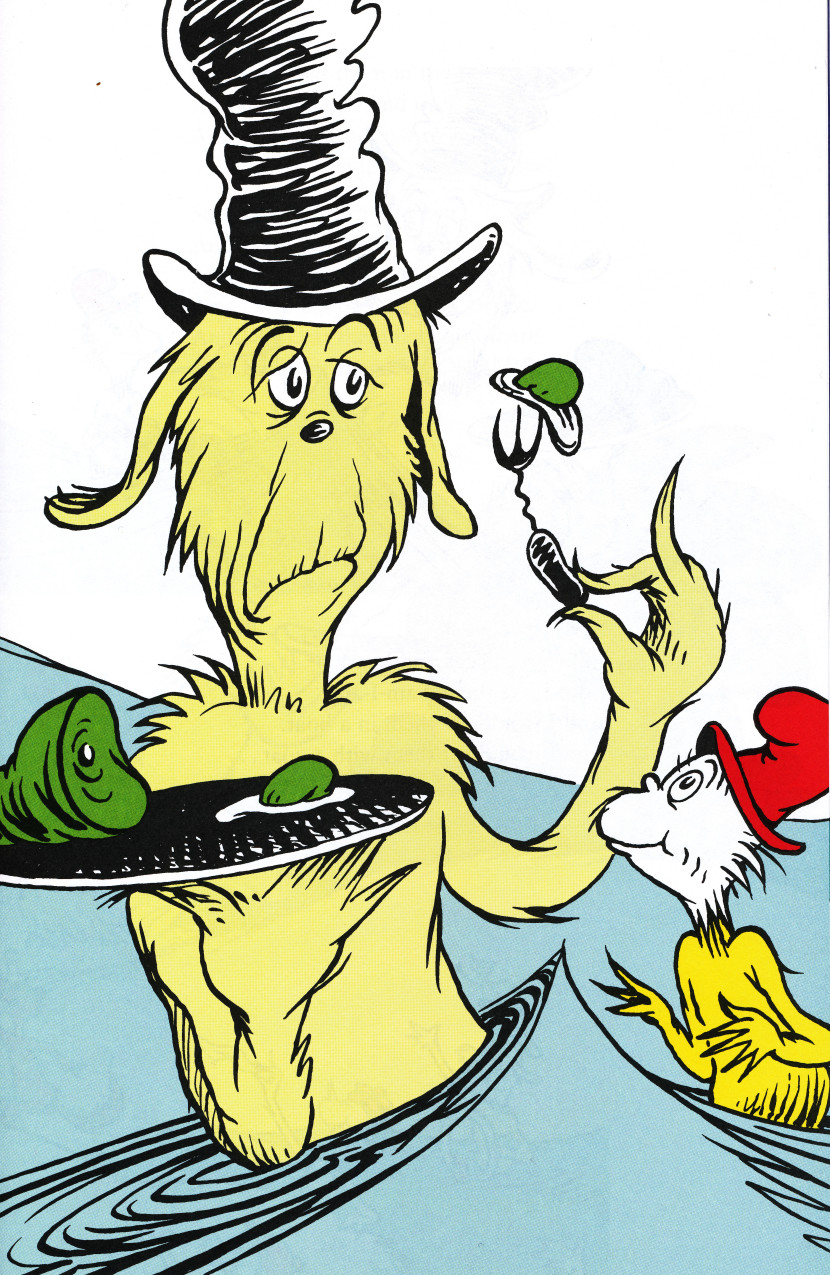 Green eggs and ham clip art 12