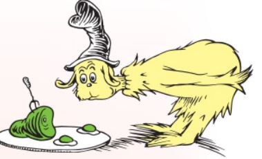 Green eggs and ham kinder books clip art