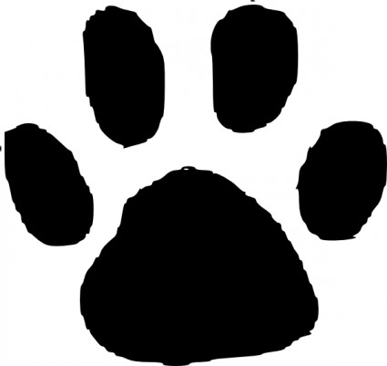 Grizzly bear paw print clipart free images 3 2