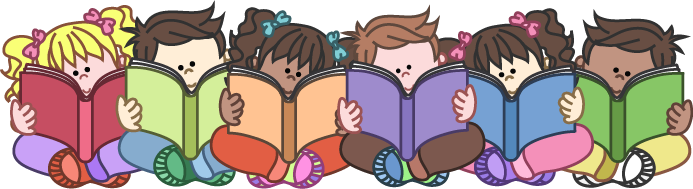 Group of students reading clipart clipartfox