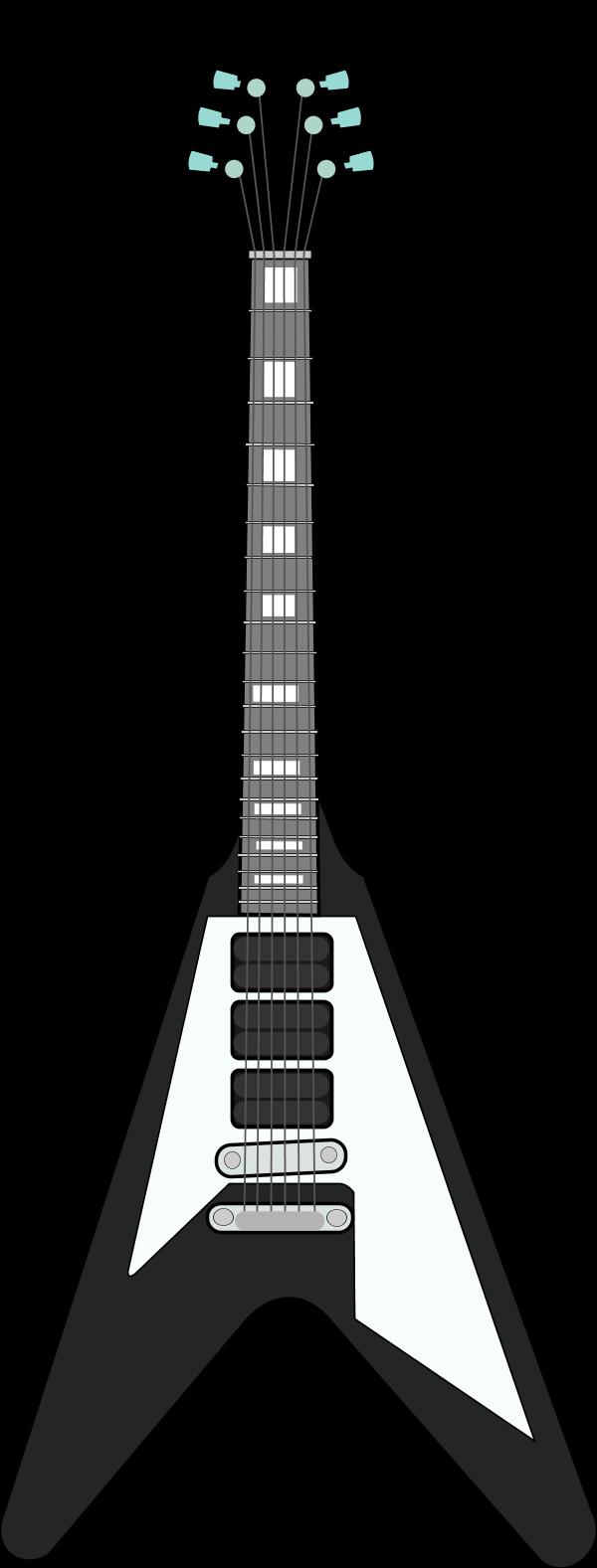 Guitar  black and white black and white guitar clipart clipartwiz 2 2