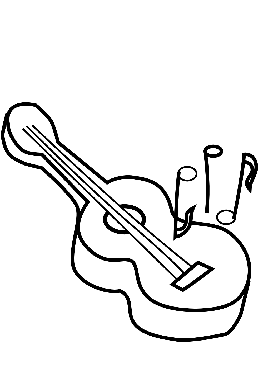 Guitar  black and white guitar clip art black and white free clipart images