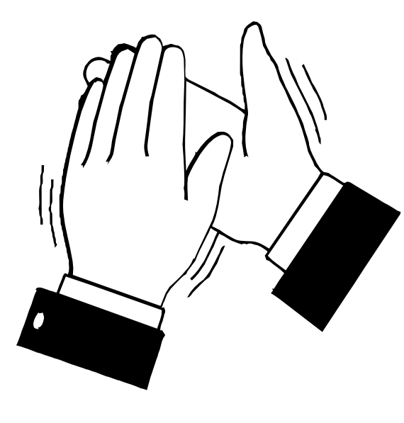 Hand  black and white hand clipart black and white free images