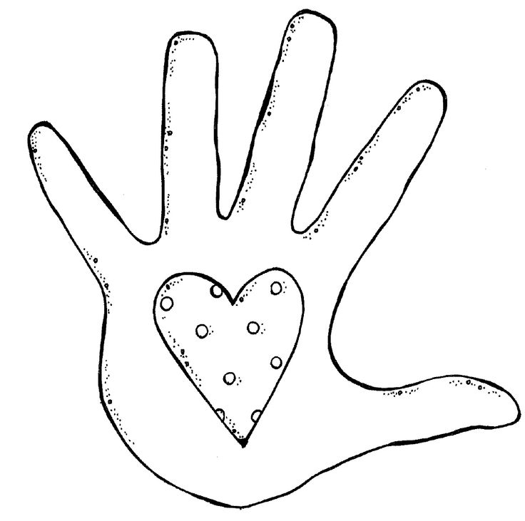 Hand  black and white two hands clipart black and white free