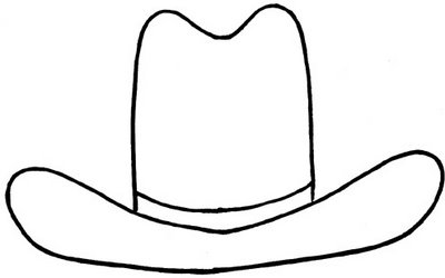 Hat  black and white black and white clipart hat clipart 2