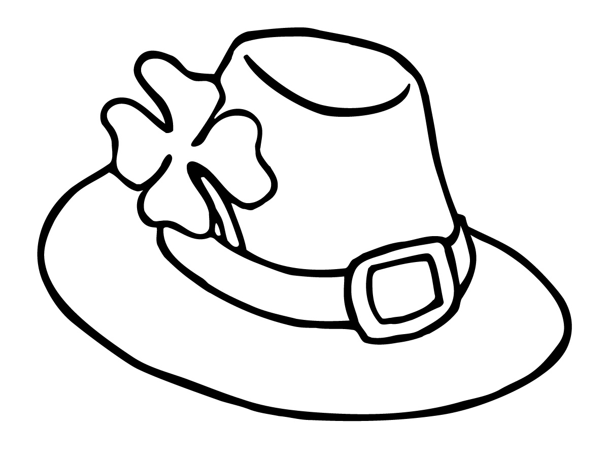 Hat  black and white hat clip art black and white free clipart images 3