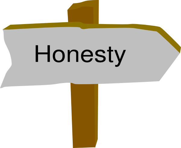 Honesty Clipart