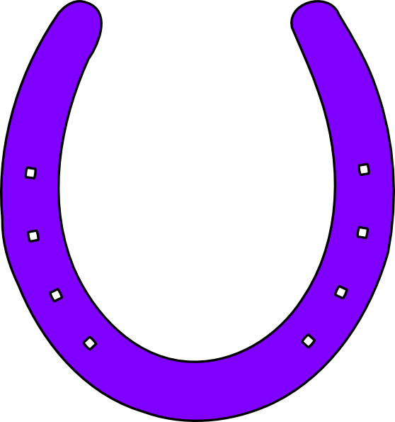 Horse shoe clip art border
