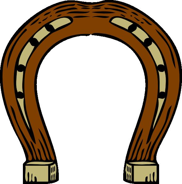 Horse shoe horseshoe clip art vector free clipart images 6
