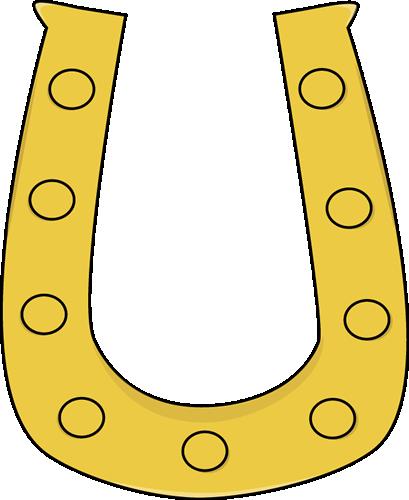 Horse shoe horseshoe tracks clipart 2