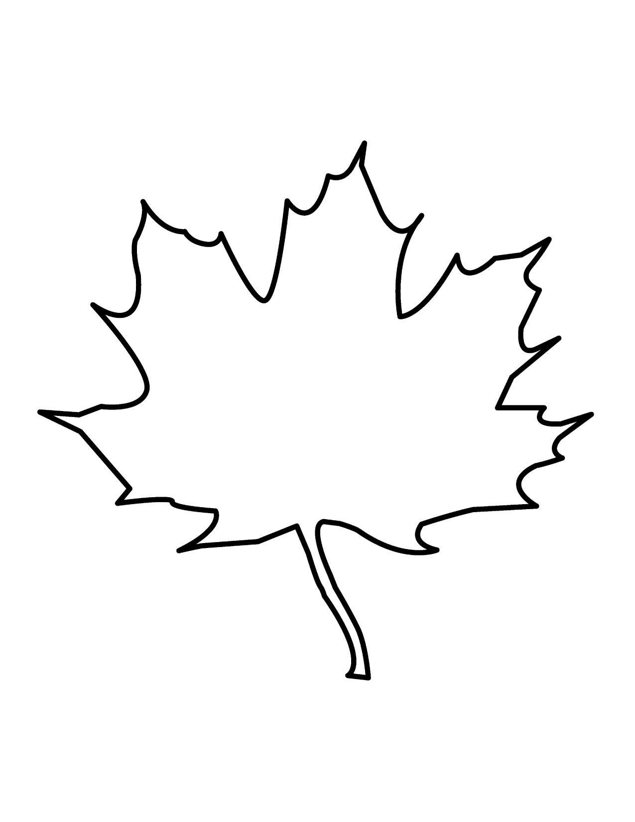 Leaves  black and white free oak leaf clipart
