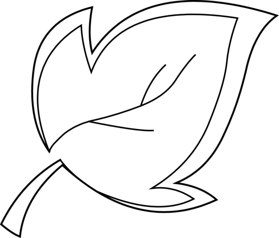 Leaves  black and white leaf outline clip art black and white clipart 2