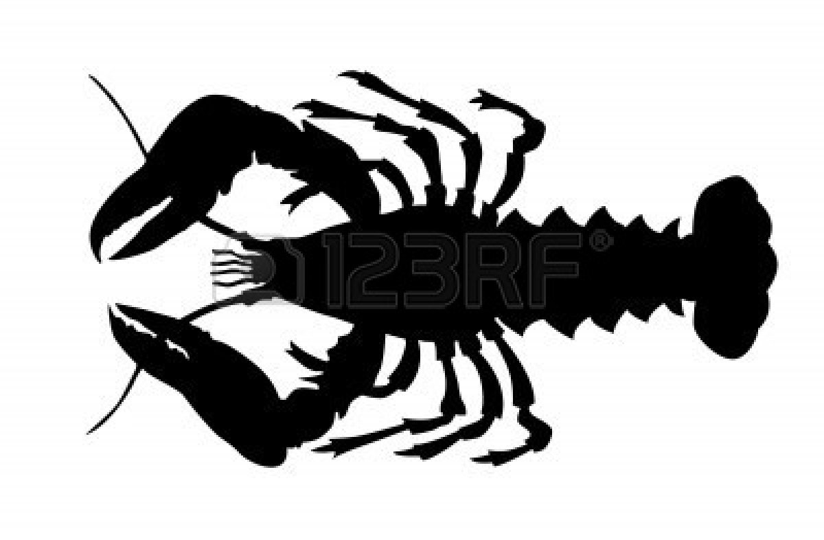 Lobster outline lobster cliparts