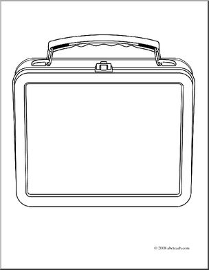 Lunch box back packs lunch es clip art for teachers parents students