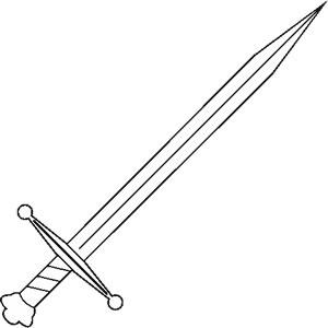 Medieval sword clipart dagger tattoo les6de