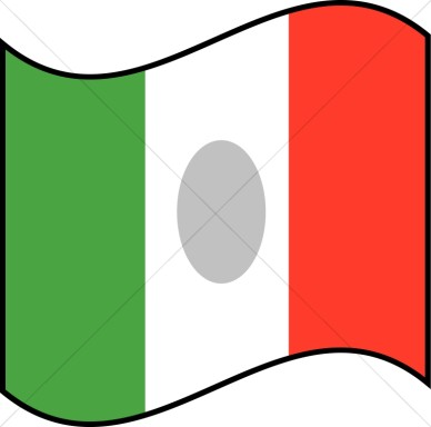 Mexican flag banner clipart free images