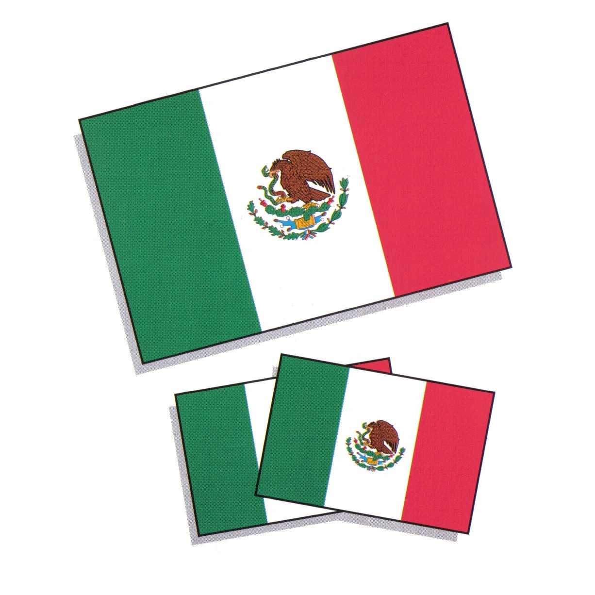 Mexican flag clip art free clipart images 5