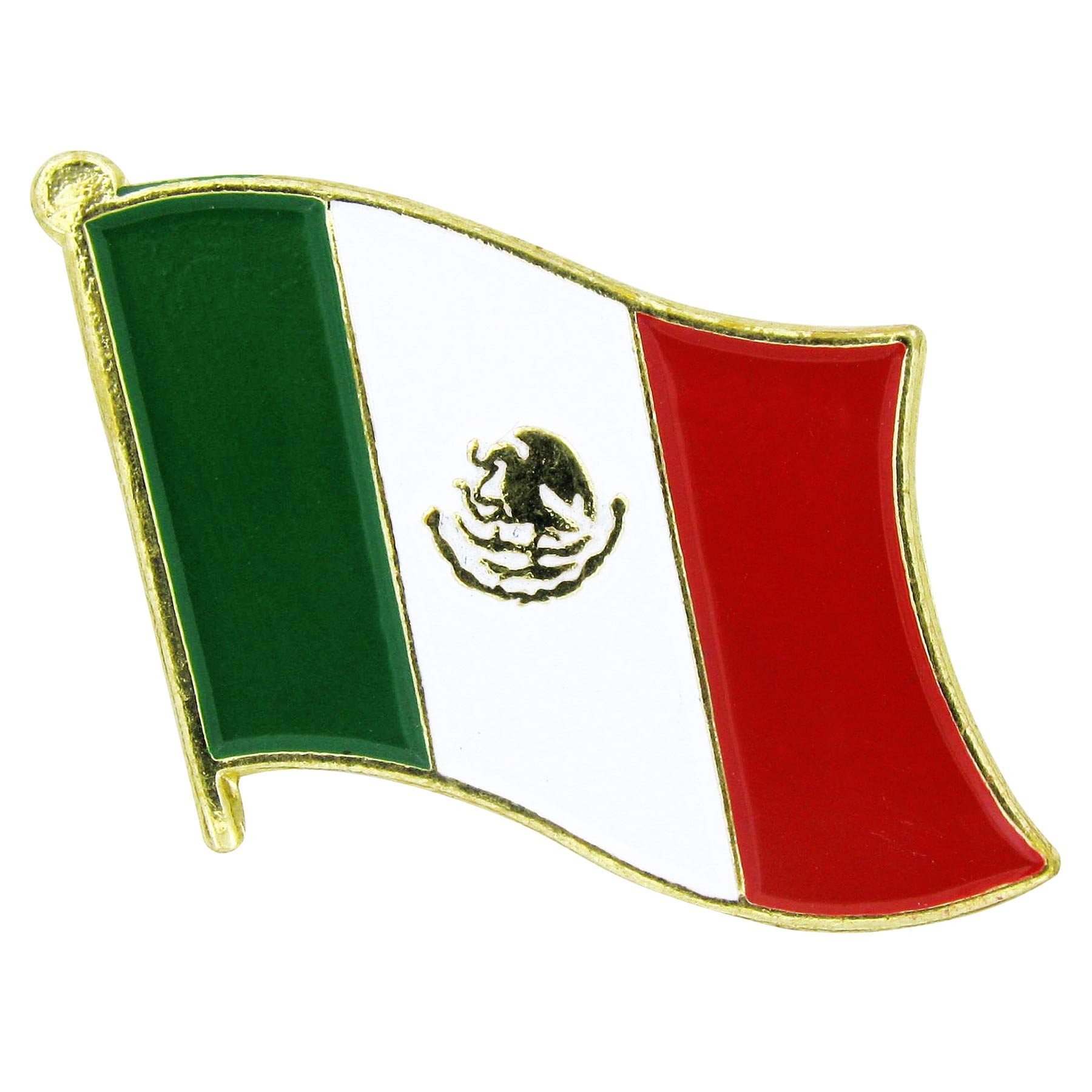 Mexican flag clipart 2