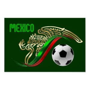 Mexican flag eagle clipart