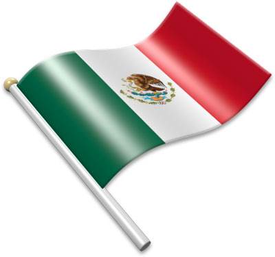 Mexican flag flag icons of mexico 3d flags animated waving flags the clipart 2