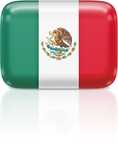 Mexican flag flag icons of mexico 3d flags animated waving flags the clipart