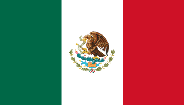 Mexican flag mexico flag clipart 2