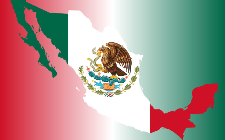 Mexican Food Flag