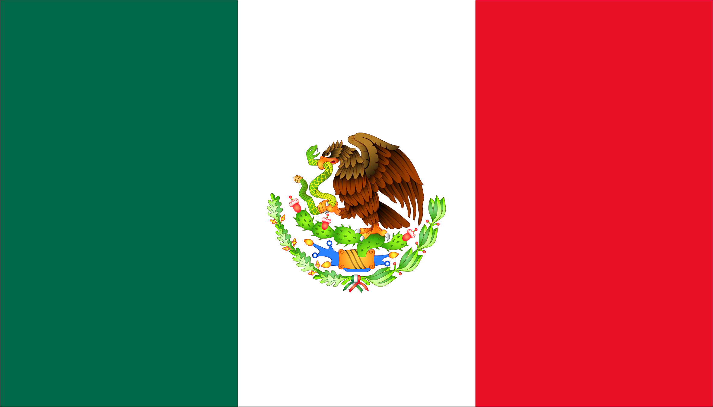 Mexican flag with pool clipart clipartfest