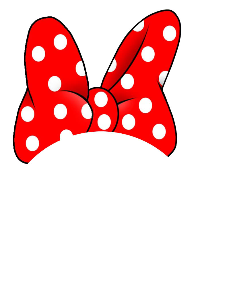 Minnie mouse bow clip art free clipart images 2
