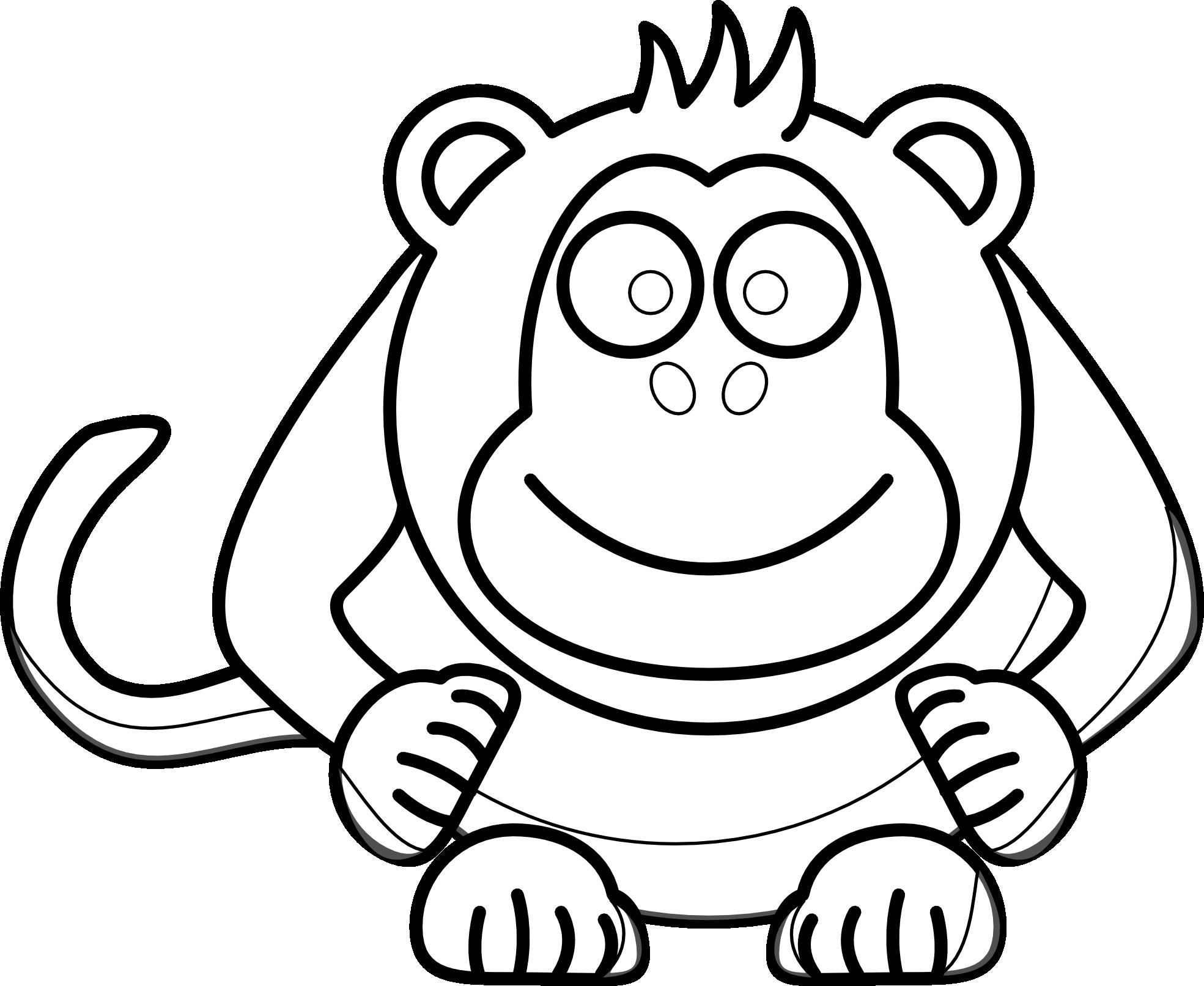 Monkey face monkey clip art images clipart