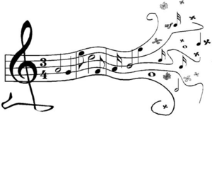 Musical borders free music borders clip art clipartfest 3