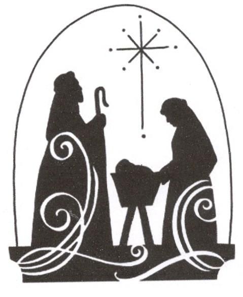 Nativity  black and white nativity clipart black and white free clipartfest 2