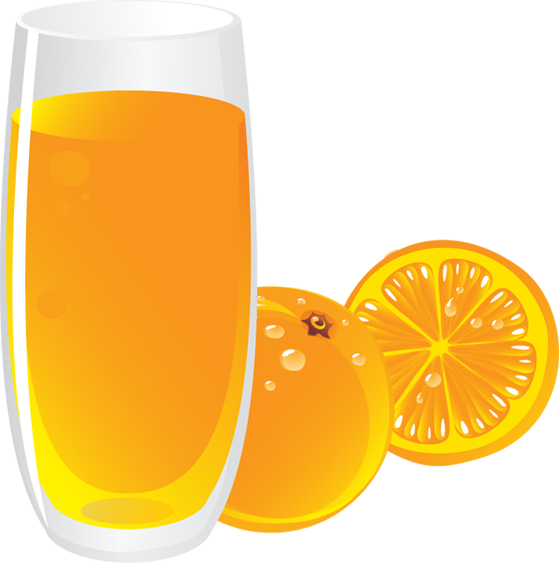 Orange juice clip art clipartfest