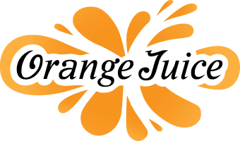 Orange juice clipart hostted